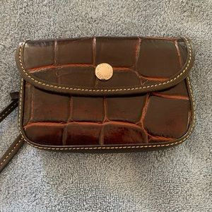 Dooney and Bourke Small Leather Wristlet